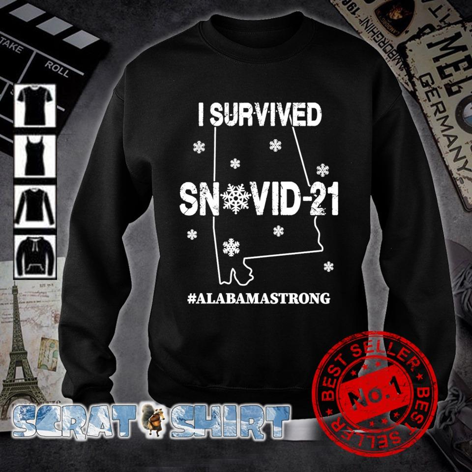 Alabama strong I survived Snovid-21 s sweater