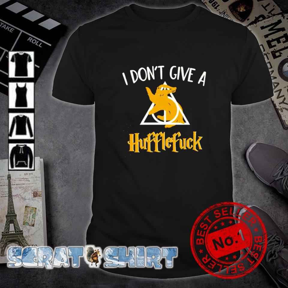Harry Potter I don't give a Hufflefuck shirt