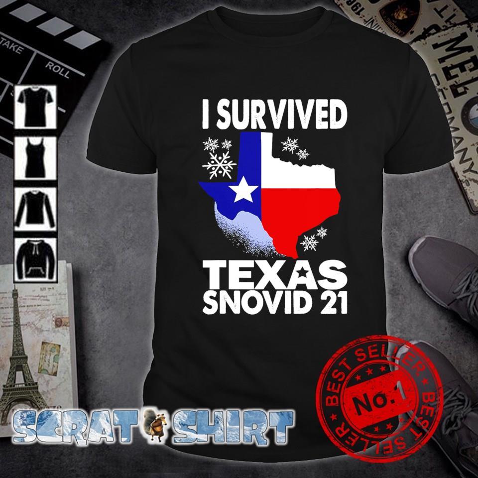 I survived Texas Snovid 21 shirt