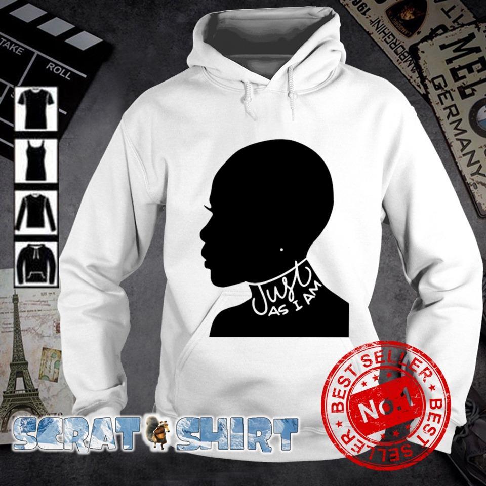 Just as I am black women s hoodie