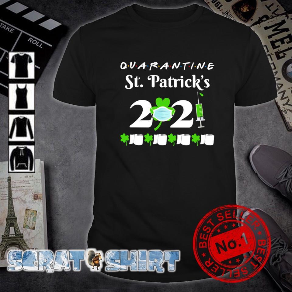 Quarantine St Patrick's Day 2021 shirt