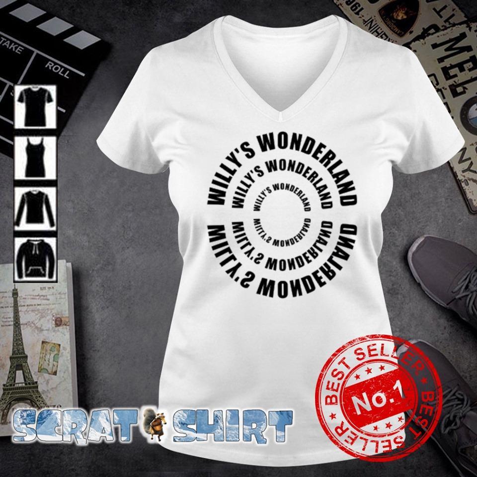 Willy's Wonderland Willy's Wonderland s v-neck t-shirt