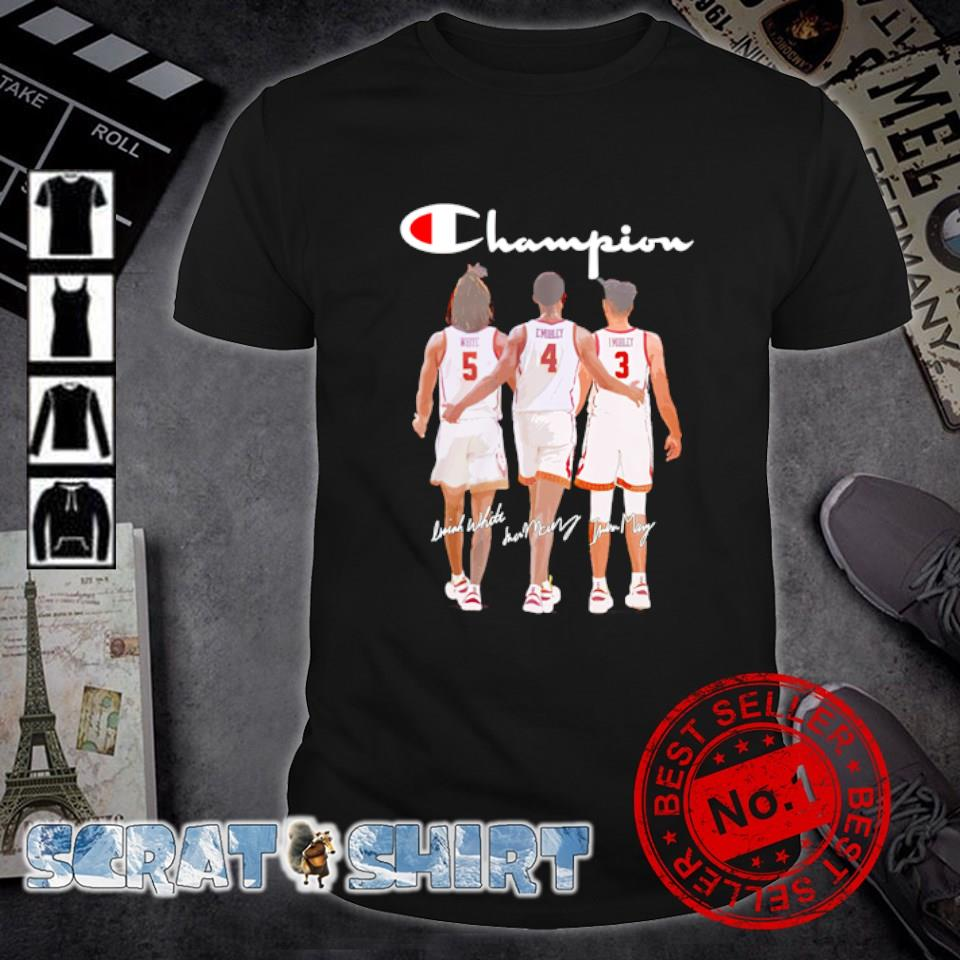 Champion White E.Mobley I.Mobley best players March Madness 2021 shirt
