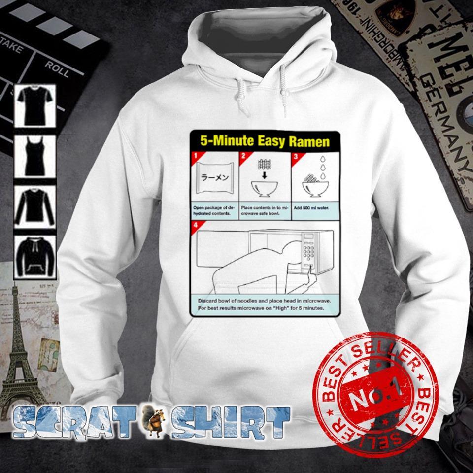 5-minute easy ramen s hoodie