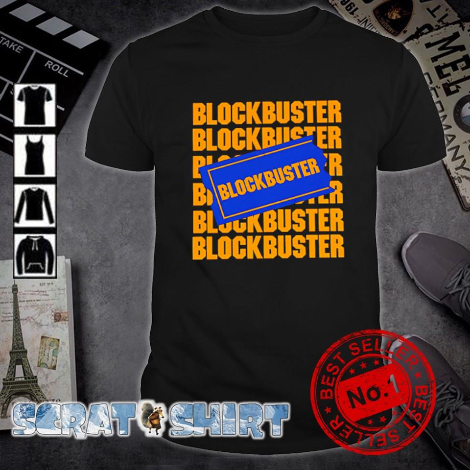 Blockbuster video rental shirt