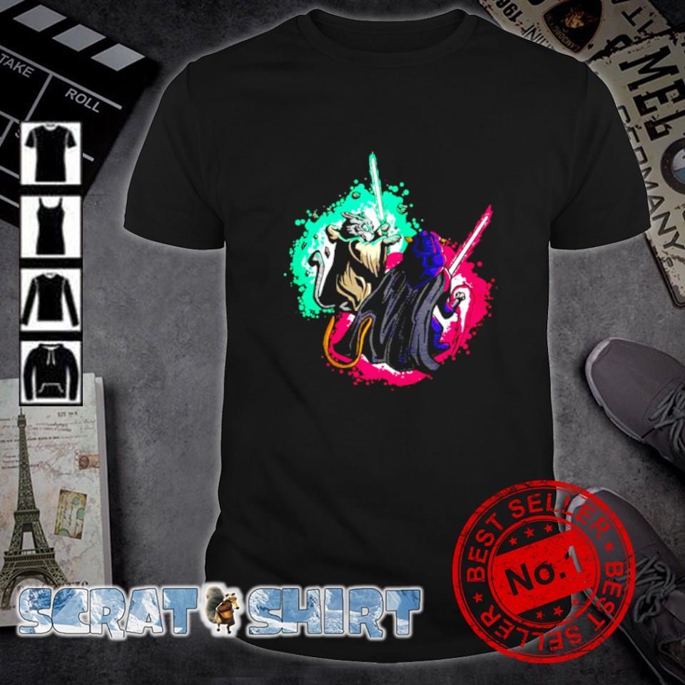 Cat Wars Light Swords Star Cats shirt