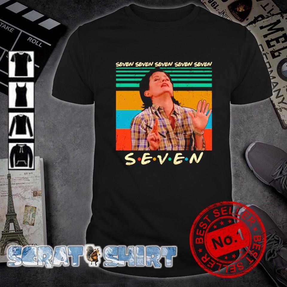Friends TV show Monica Geller seven seven vintage shirt