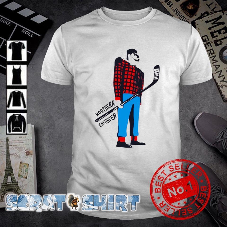 Northern enforcer hockey shirt