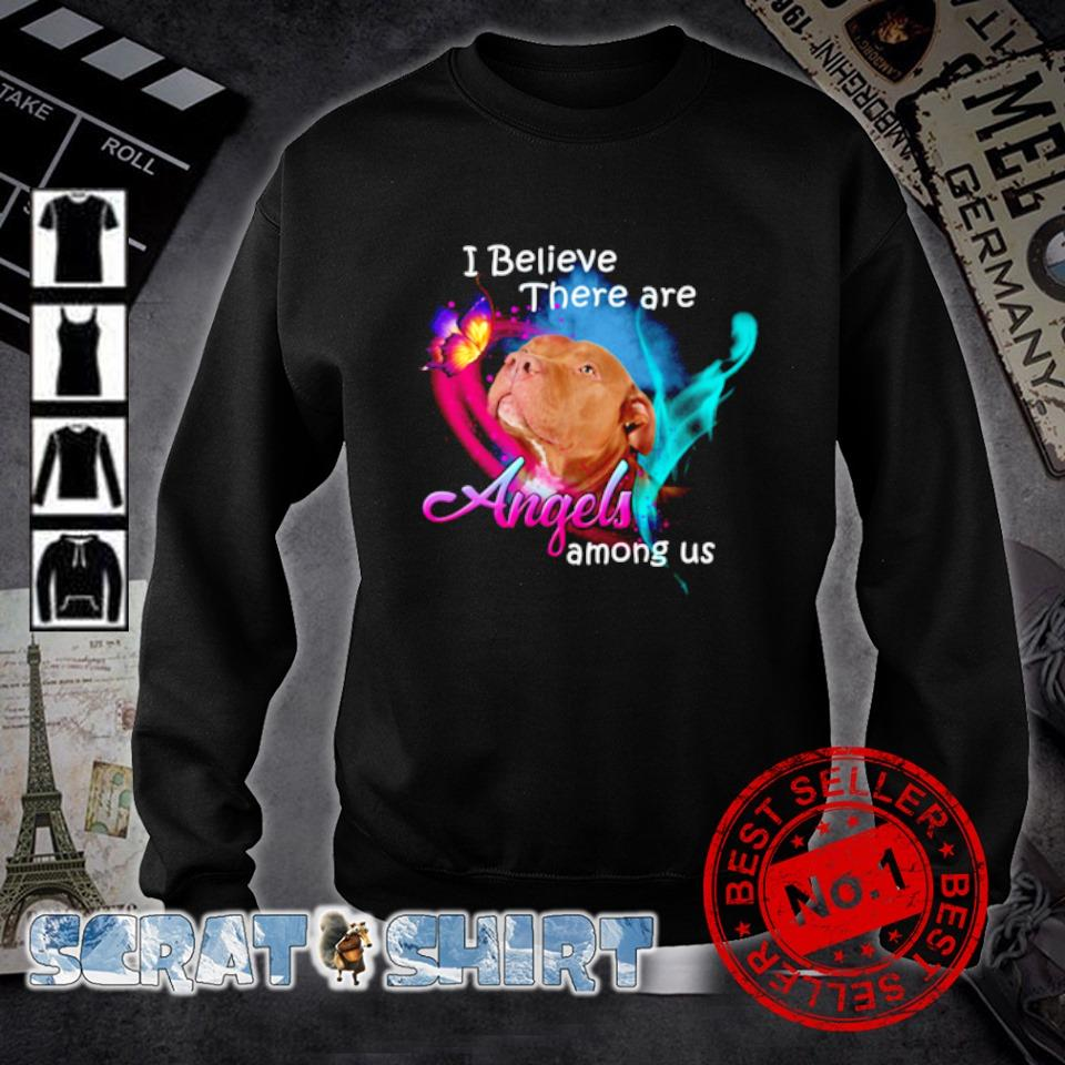 Pitbull I believe there are Angels Among US s sweater