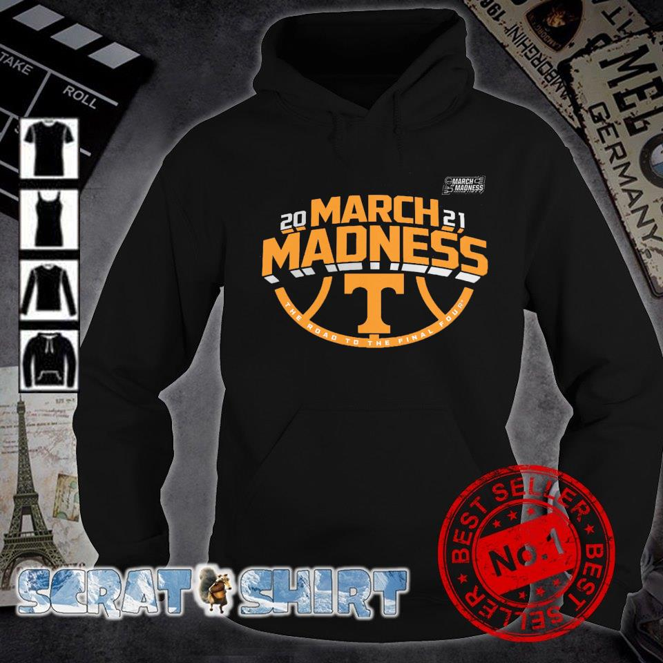Tennessee Volunteers 2021 March madness the road to the final four s hoodie