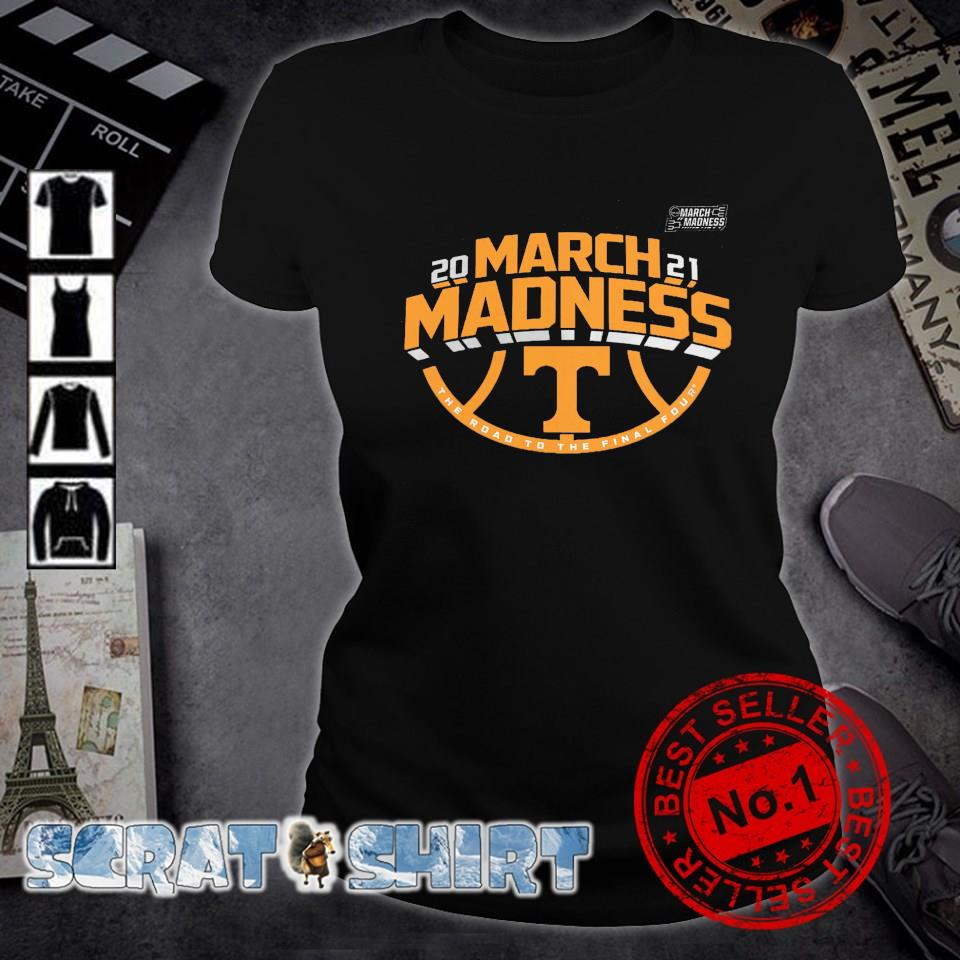 Tennessee Volunteers 2021 March madness the road to the final four s ladies-tee