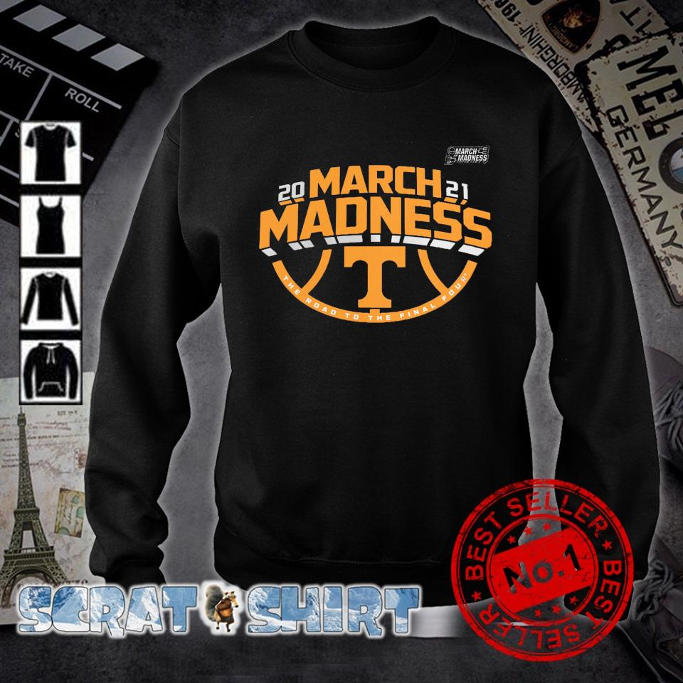 Tennessee Volunteers 2021 March madness the road to the final four s sweater