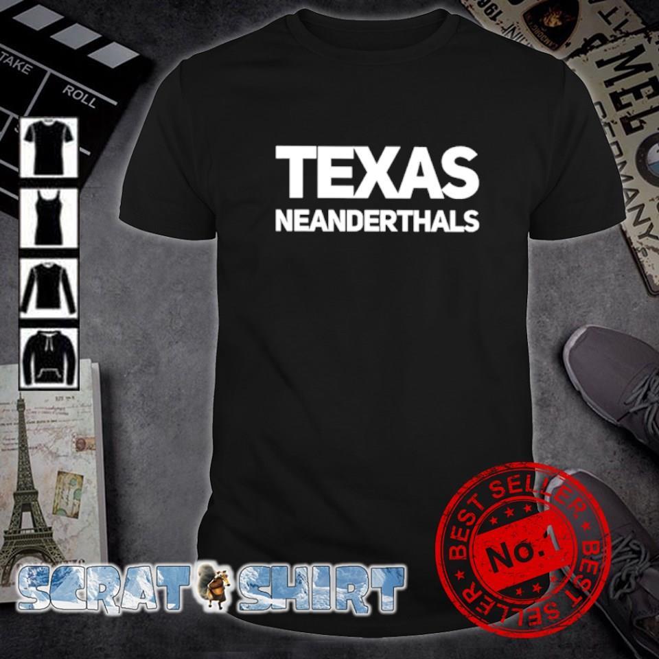 Texas Neanderthals shirt