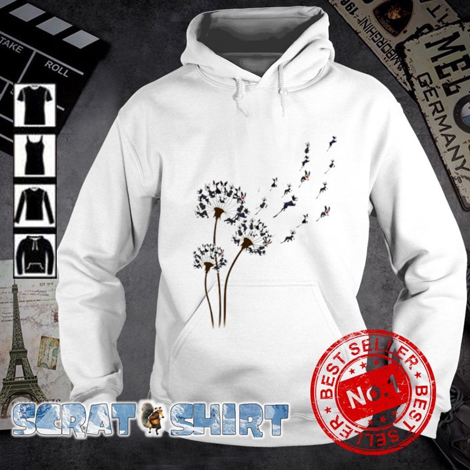 Boston Terrier dandelion s hoodie