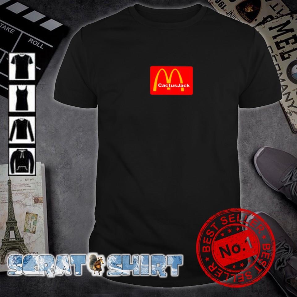 Cactus Jack and McDonald's shirt