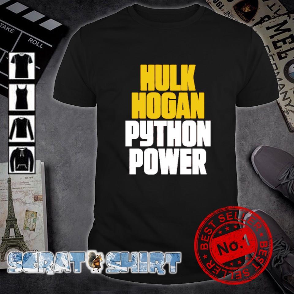 Hulk Hogan Python Power shirt