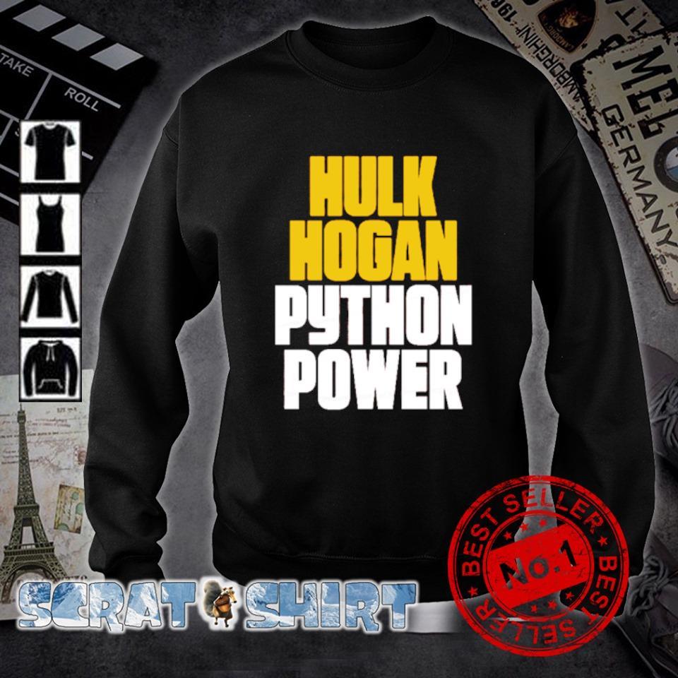 Hulk Hogan Python Power s sweater