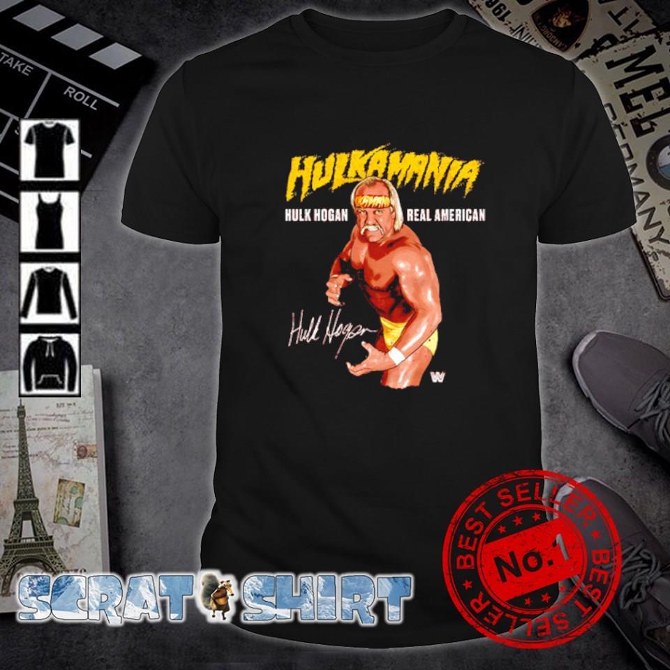 Legends WWE Hulk Hogan Hulkamania real American shirt