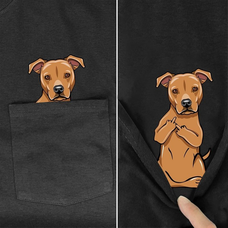 Pitbull Pocket shirt