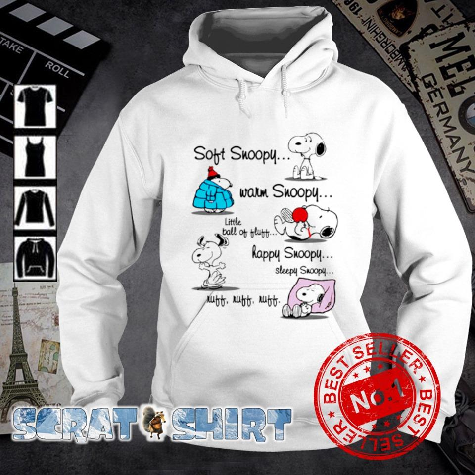 Soft Snoopy warm Snoopy little ball of fluff happy Snoopy s hoodie