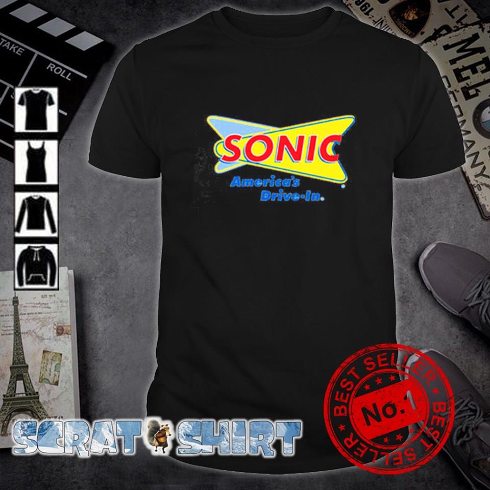 Sonic America's drive-in shirt