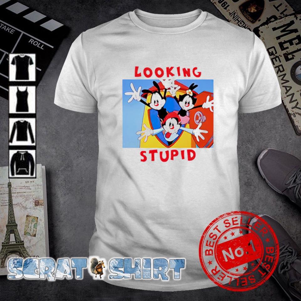 Looking Stupid Animaniacs shirt