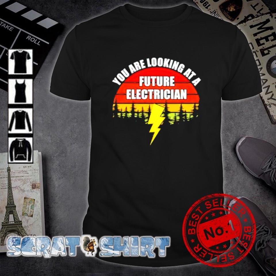 You are looking at a future electrician shirt