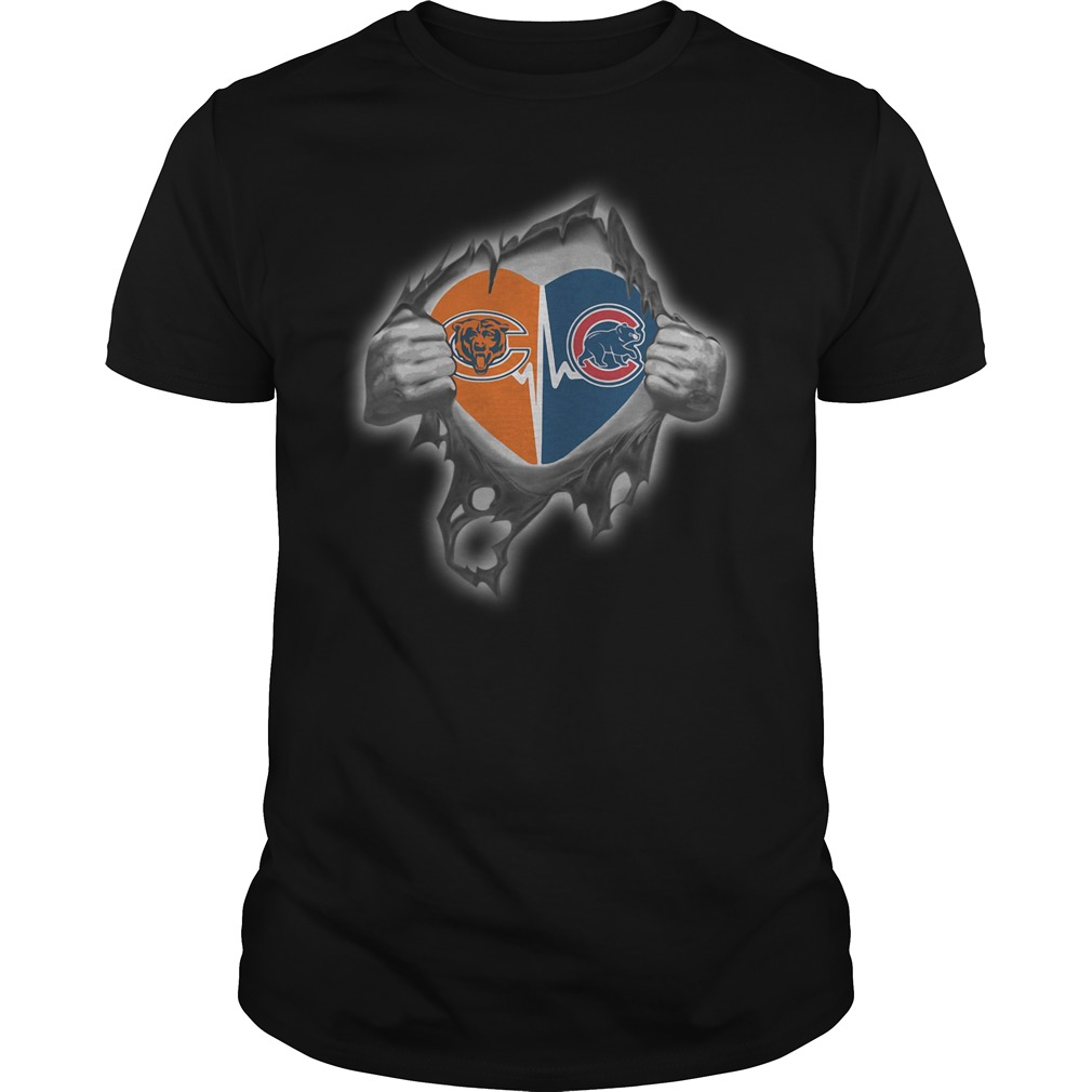 Bears Cubs It's in my heart inside me shirt