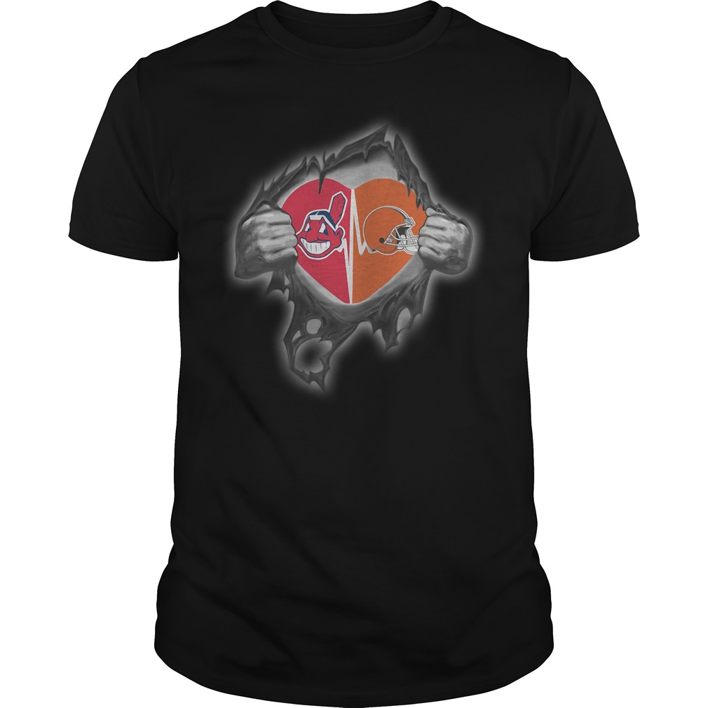 Browns Indians It's in my heart inside me shirt