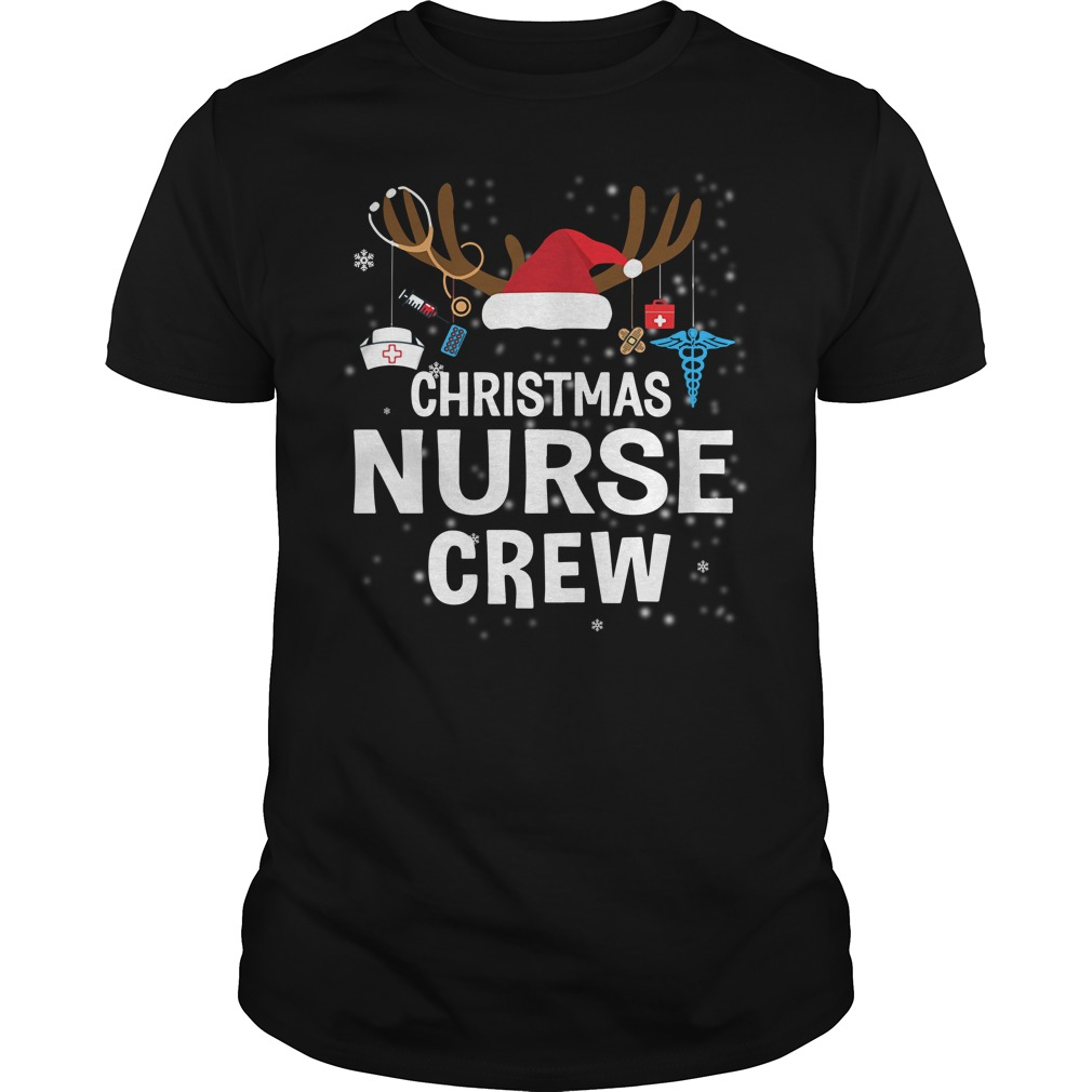 Christmas nurse crew shirt