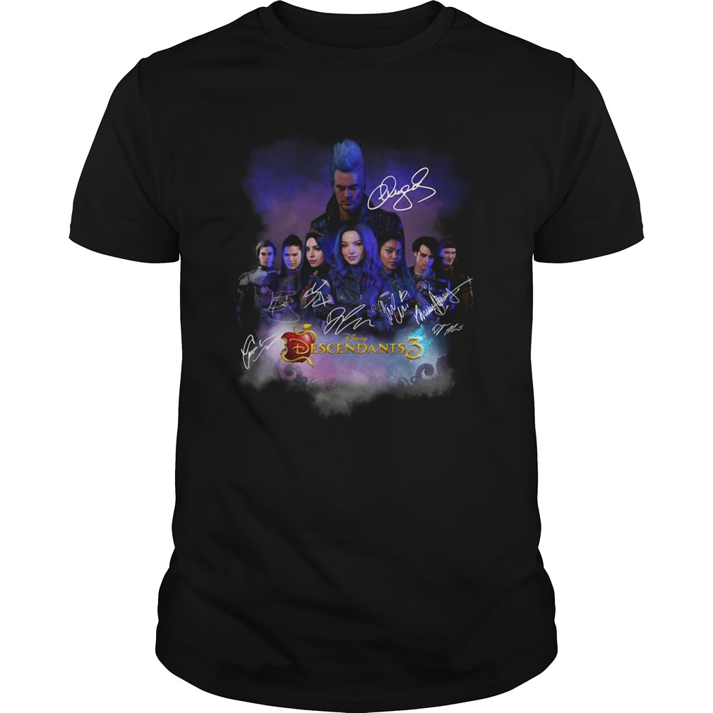 Disney Descendants 3 signature shirt