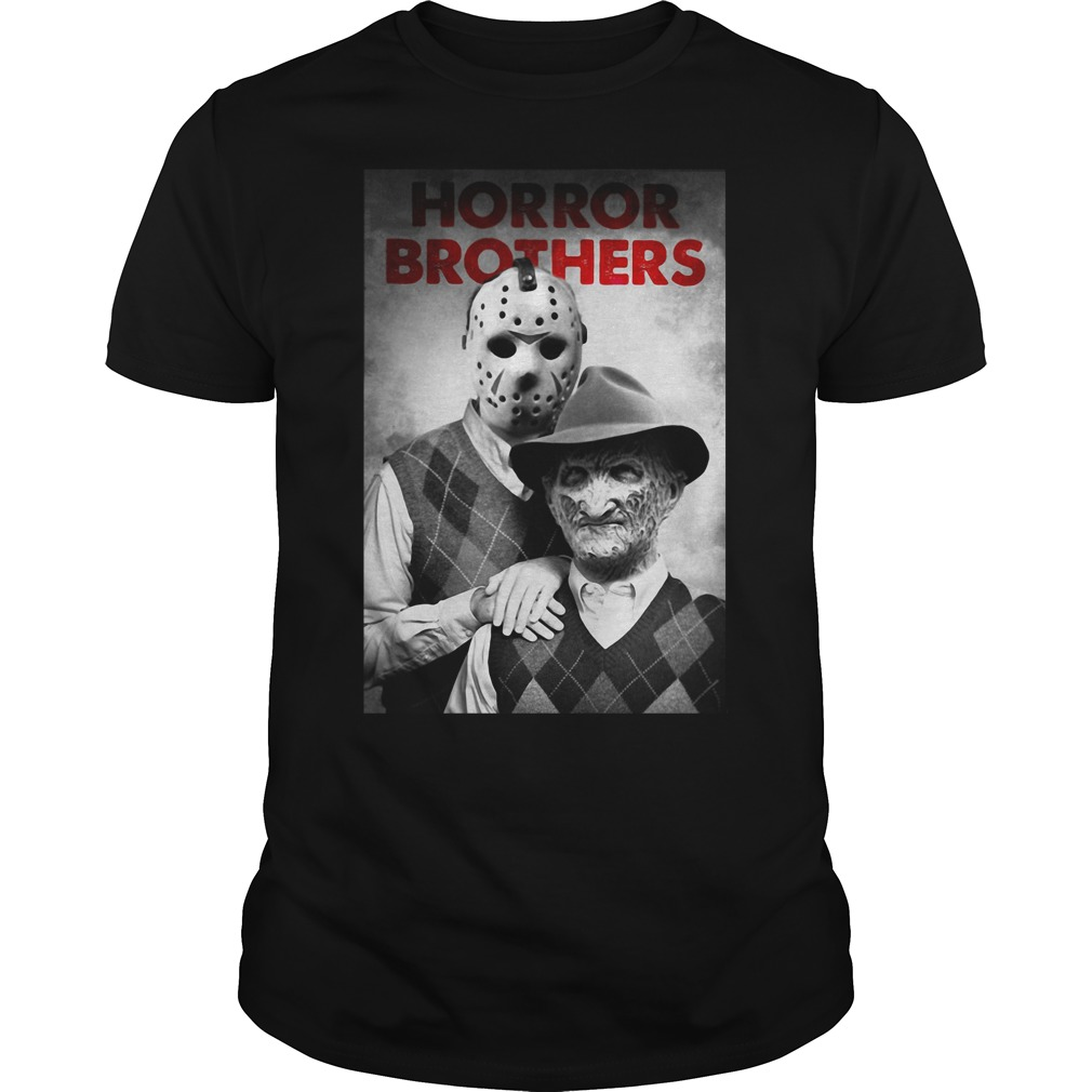 Freddy and Jason Funny Step Brothers Horror shirt