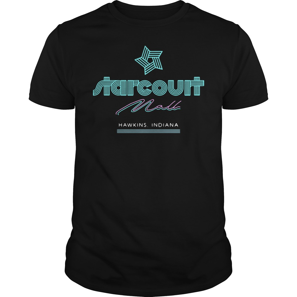 Halloween Starcourt mall Hawkins Indiana shirt