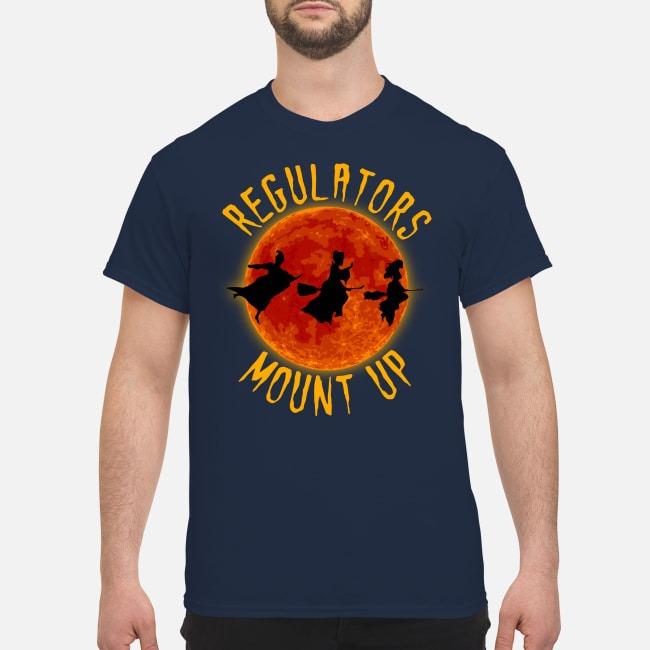 Hocus Pocus witch Regulators Mount up moon Halloween shirt