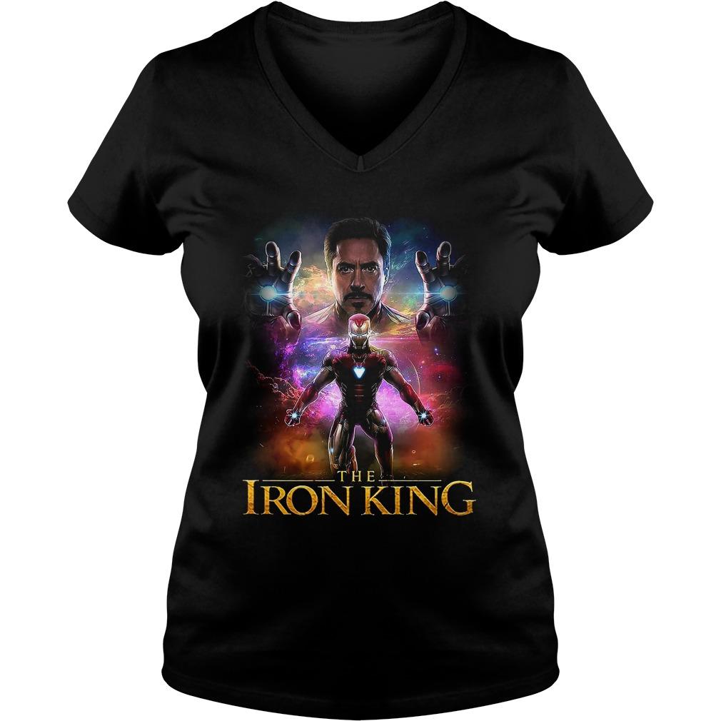 Iron Man The Iron King V-neck T-shirt