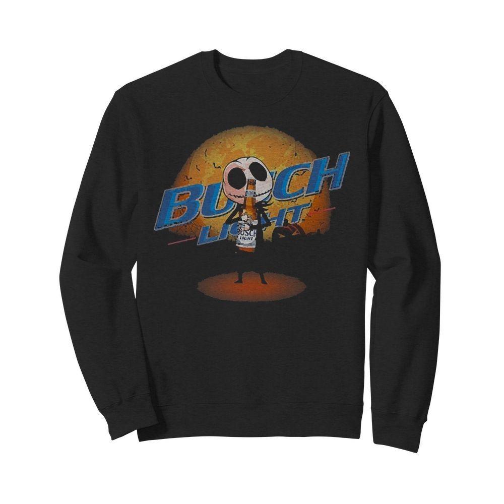 Jack Skellington hug Busch Light Sweater