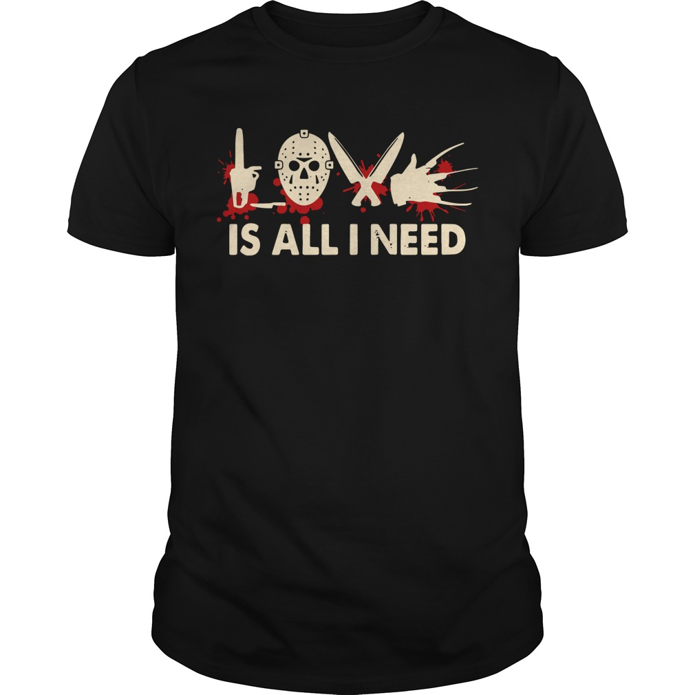 Jason love is all I need shirt