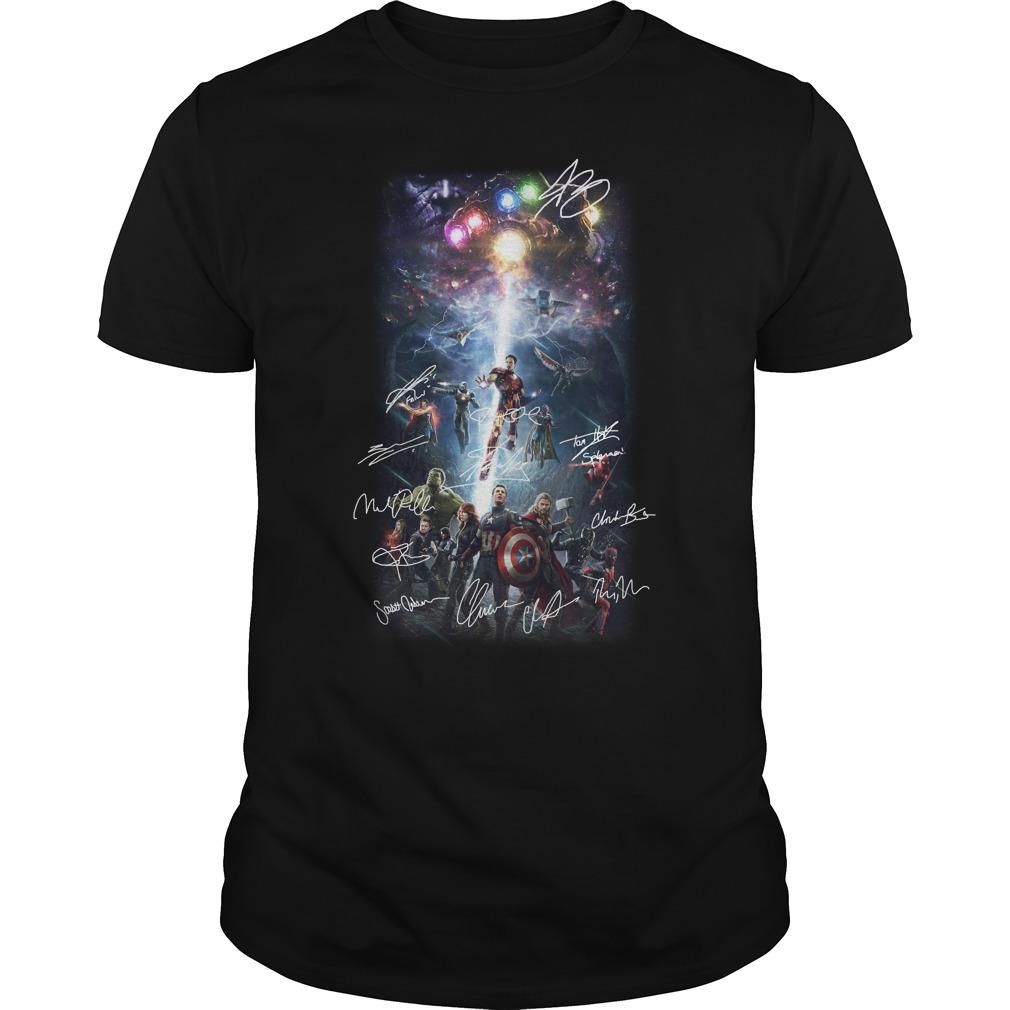 Marvel Avengers Endgame Infinity War shirt
