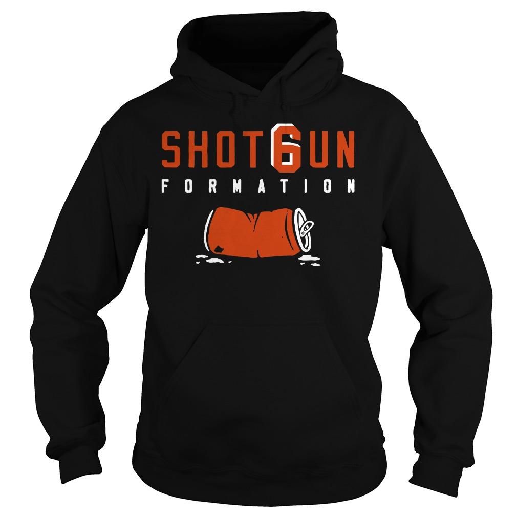 Shotgun Formation Cleveland Browns Hoodie