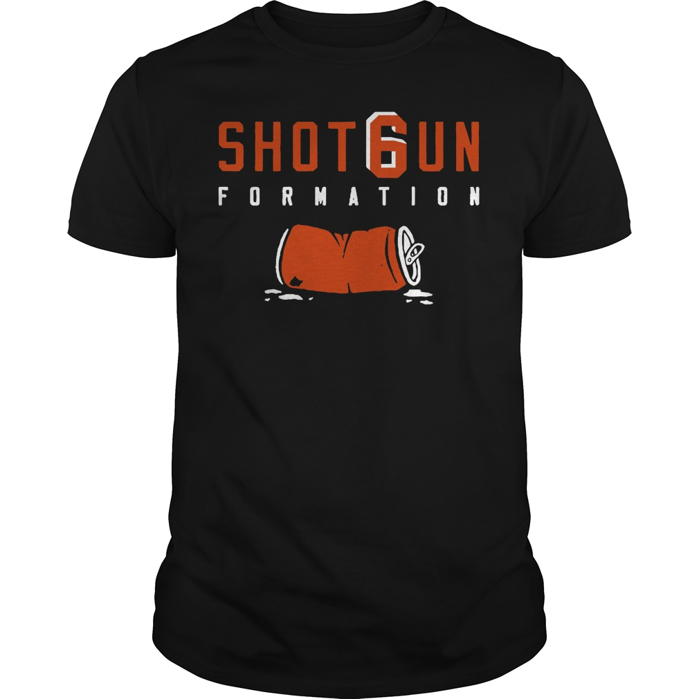 Shotgun Formation Cleveland Browns shirt