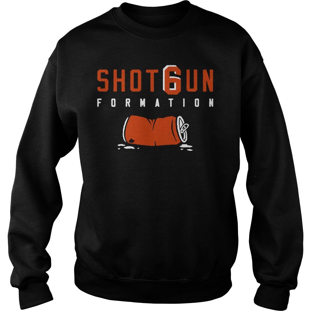 Shotgun Formation Cleveland Browns Sweater