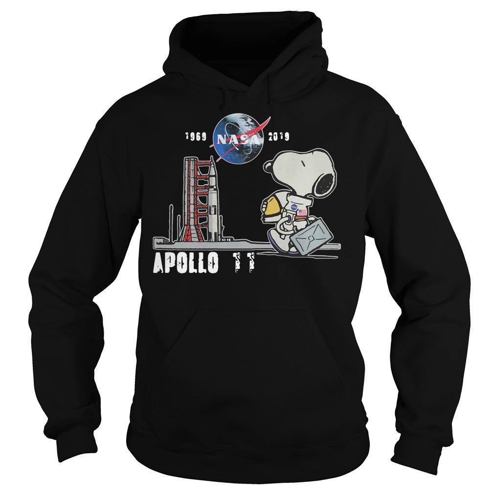 Snoopy 1969 NASA 2019 Apollo 11 Hoodie