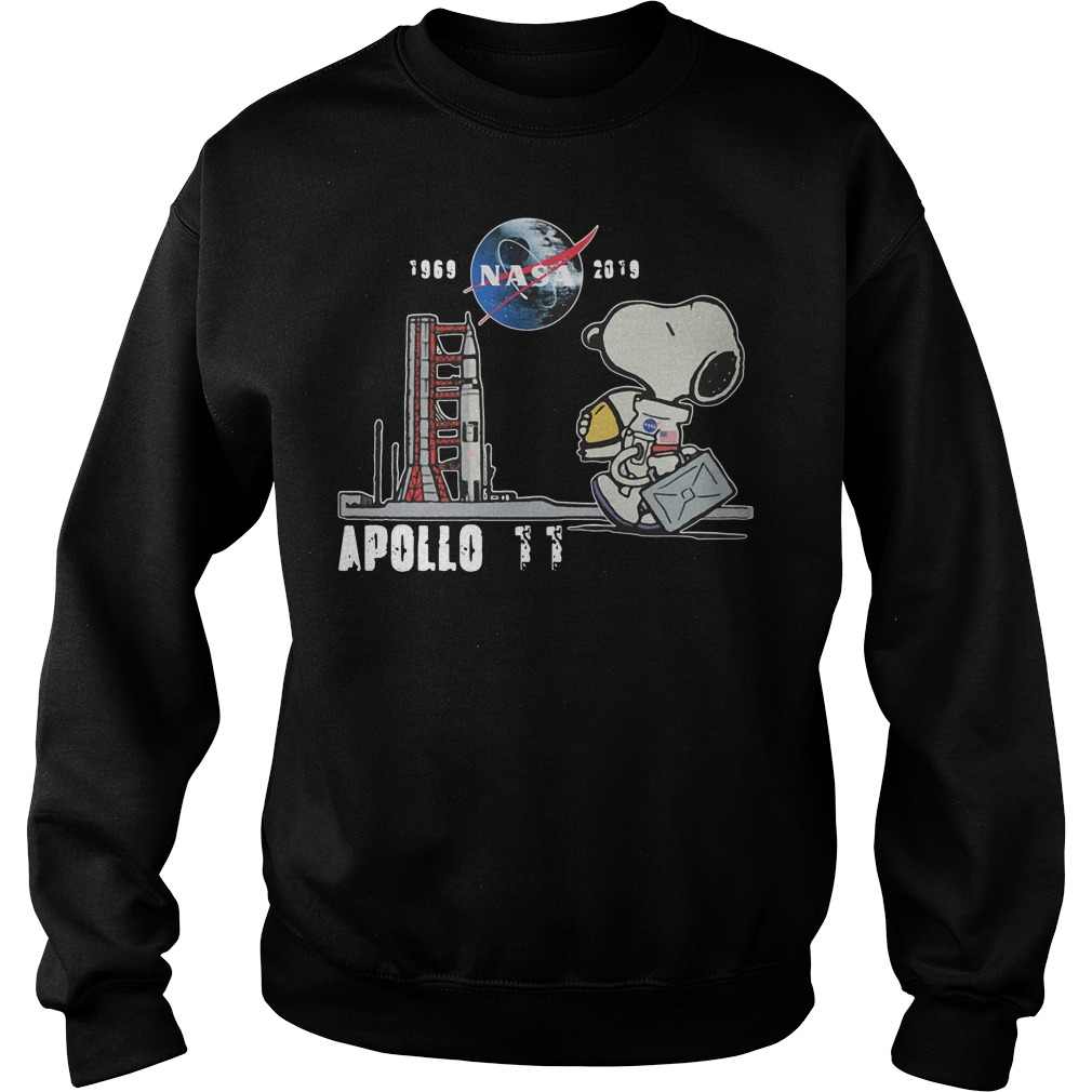 Snoopy 1969 NASA 2019 Apollo 11 Sweater