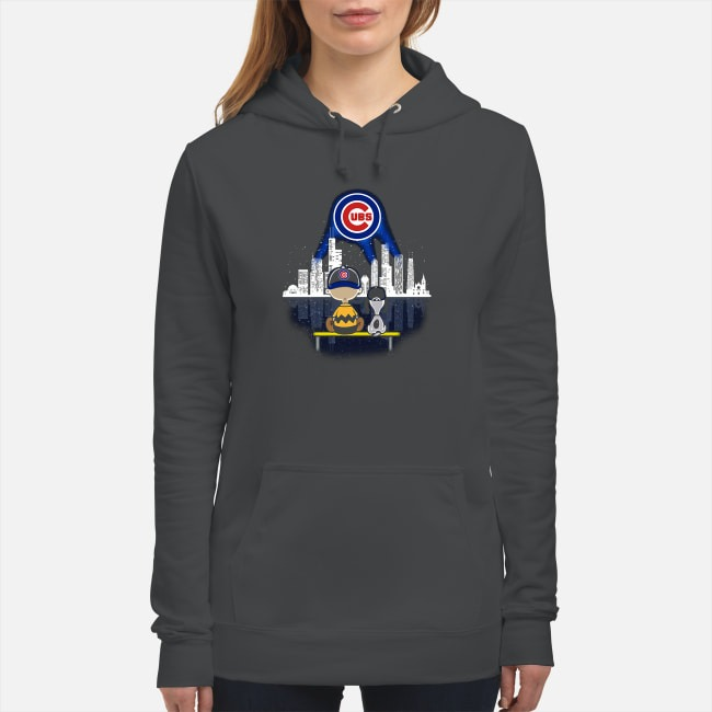 Snoopy and Charlie Brown Chicago Cubs Hoodie