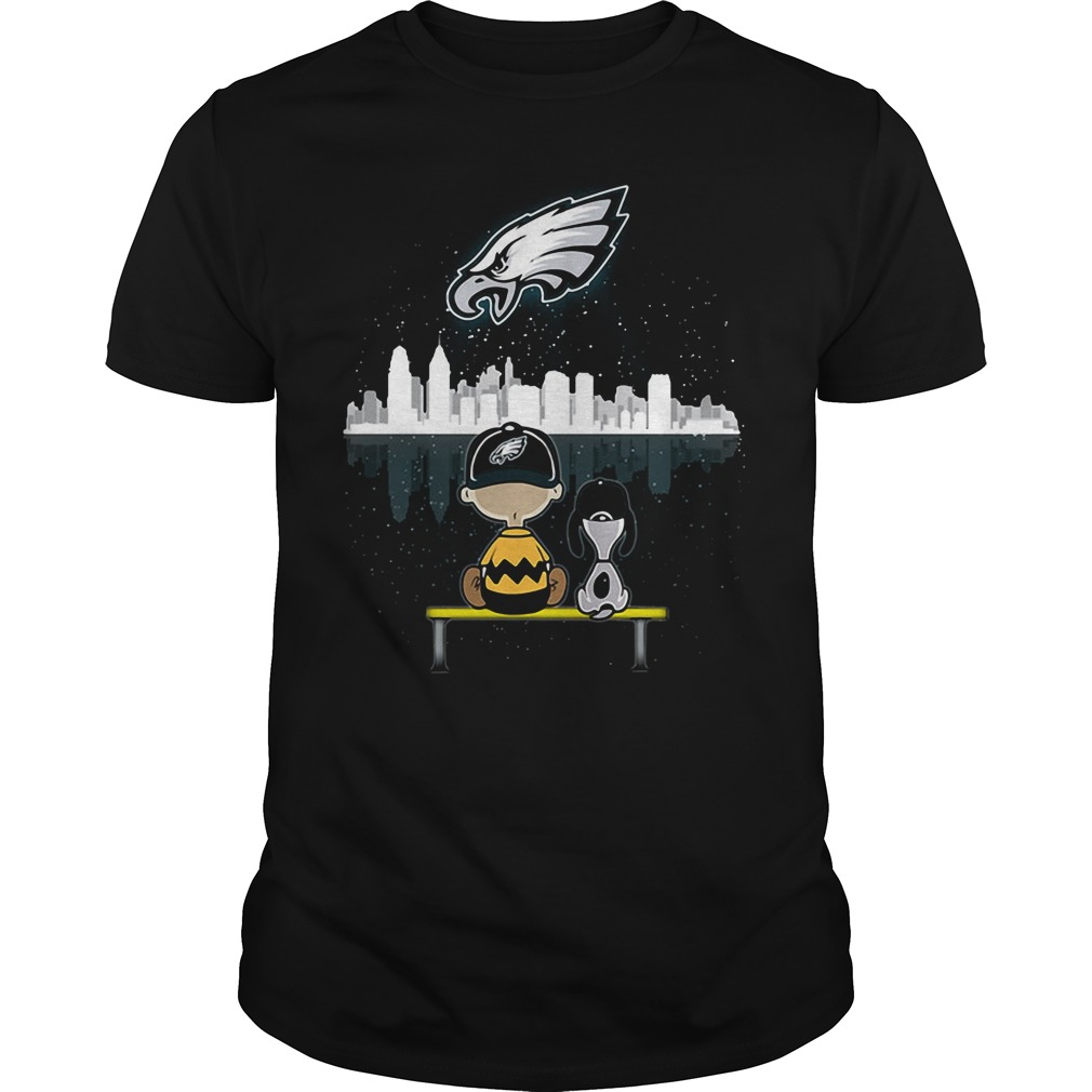 Snoopy and Charlie Brown Philadelphia Eagles shirt