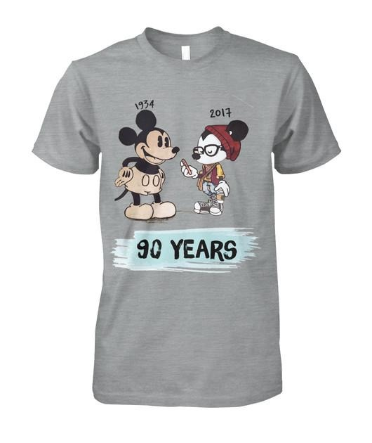 1934 - 2017 Mickey Mouse 90 years shirt