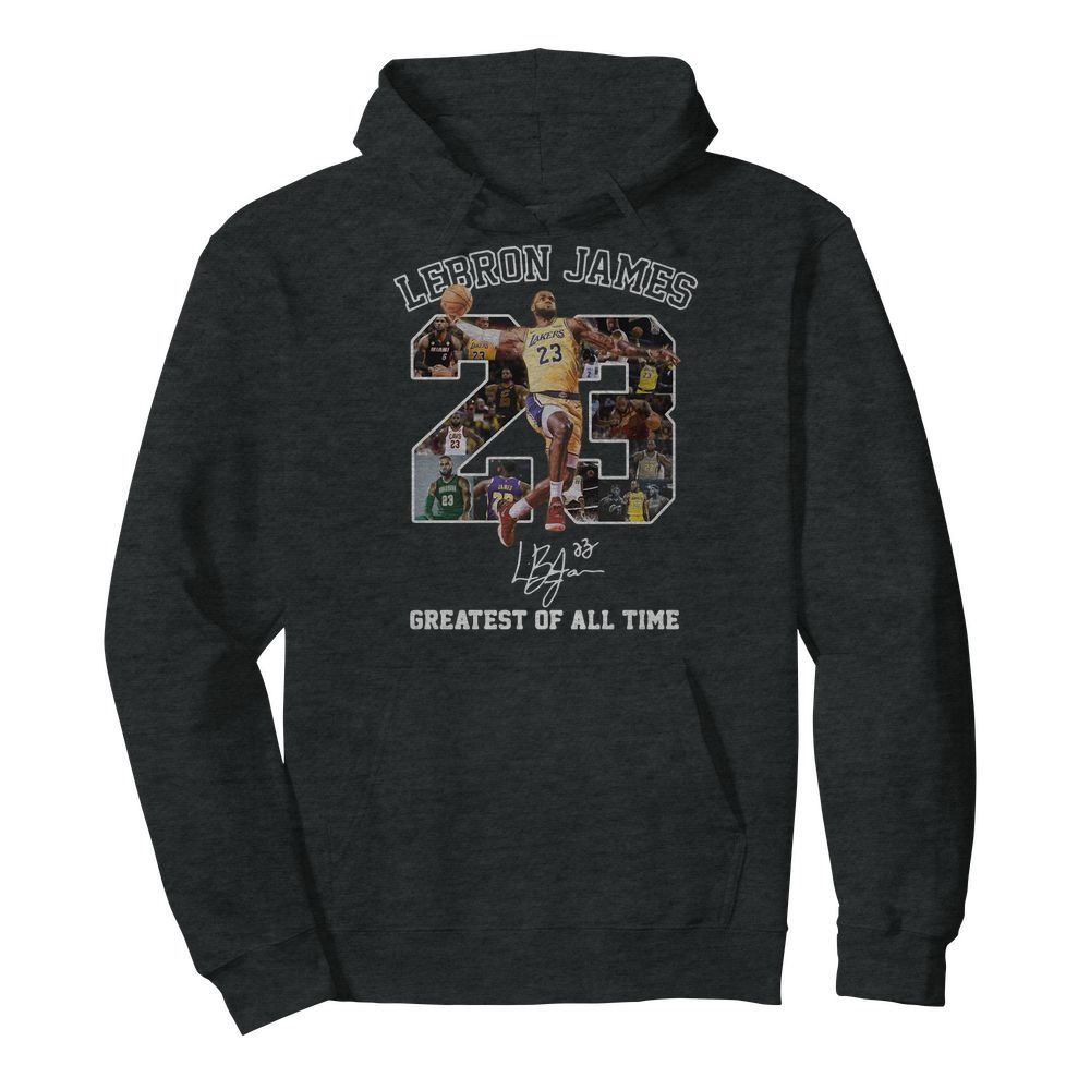 23 Lebron James greatest of all time Hoodie
