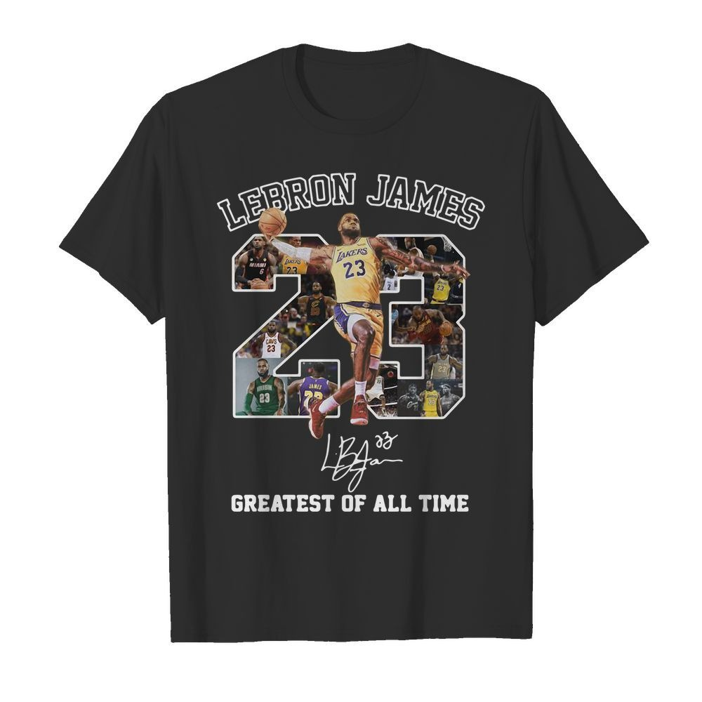 23 Lebron James greatest of all time shirt