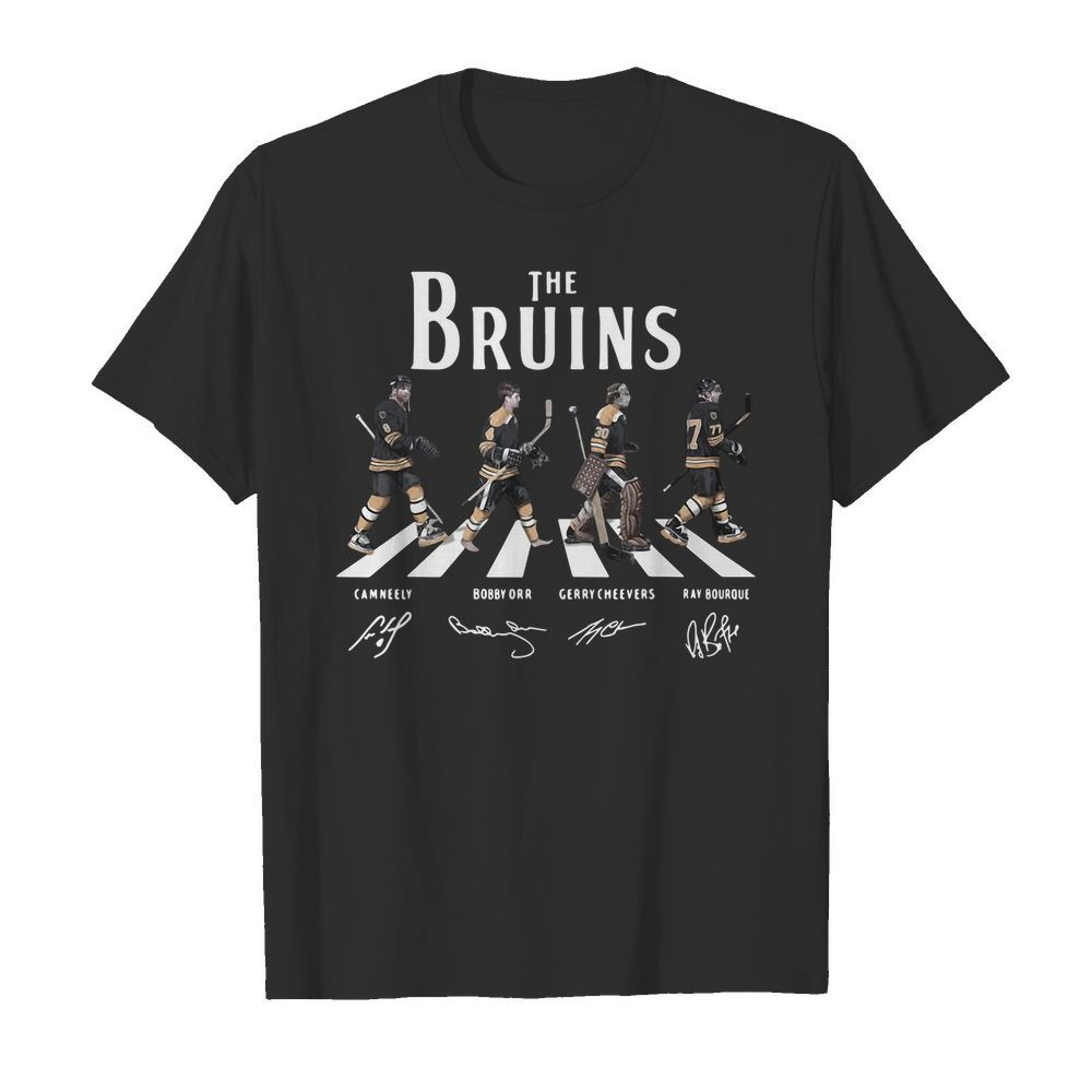 Abbey Road The Bruins signature shirt