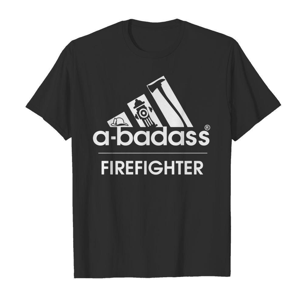 A-badass firefighter shirt